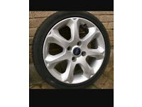 Ford alloys wheels with tyres 16inch