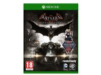 Batman Arkham Knight Xbox one unused dlc