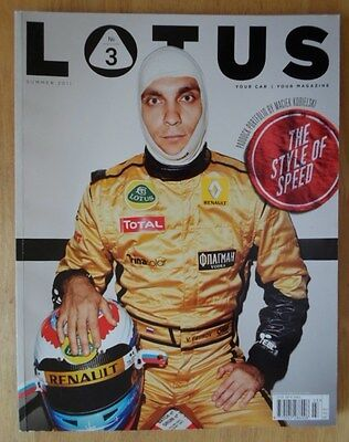 LOTUS MAGAZINE EDITION 3 Summer 2011 162 Pages Large Format Brochure