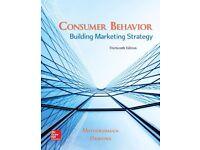 Consumer Behavior: Building Marketing Strategy 13th Edition by David Mothersbaugh ISBN 9781259232541