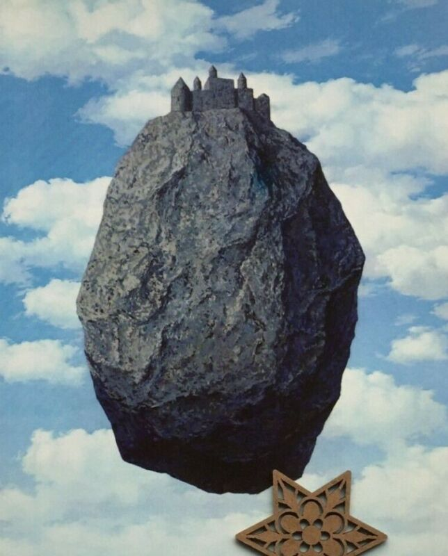 MODERN ART PRINT The Empire of Light II by Rene Magritte MOMA Poster 26.5x30.5