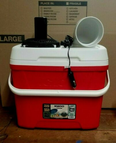 Onos MED 28qt Portable Air Conditioner Car/Truck Boat Ice Swamp Cooler 12V Fan