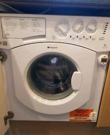 Hotpoint BHWM129 Integrated Washing Machine