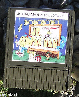 Pacman Junior JR cartridge 800/XL/XE Atari New