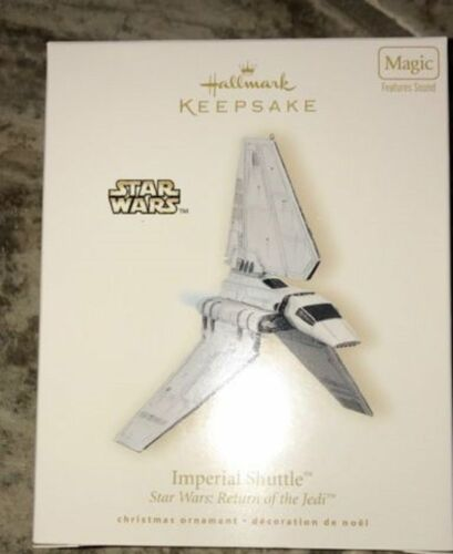 Hallmark, Star Wars, Ship ( Imperial Shuttle ) Return of the Jedi, 2008