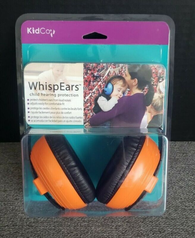 KidCo WispEars Kids Child Hearing Protection Noise Reduction Over-Ear Muffs