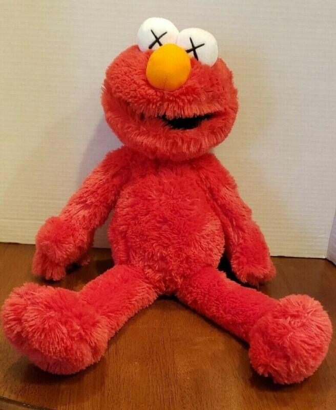 NEW Uniqlo KAWS Sesame Street ELMO Plush Doll ToyAuthentic (with tags)