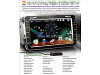 mk5 golf 8inch touch screen cd/dvd/sat nav