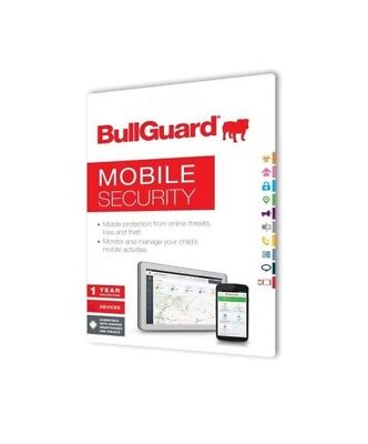 BullGuard Mobile Security- 3-Device / 1-Year - Global - - 1 Mobile Device Cd