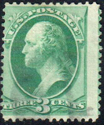 SC#136 - 3c George Washington Perf 12 Used