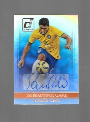 2015 Donruss Soccer - PAULINHO - The Beautiful Game Autograph - BRAZIL ()