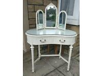 Louis Style Vintage Kidney Shaped Dressing Table