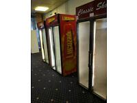 Commercial display drinks fridge