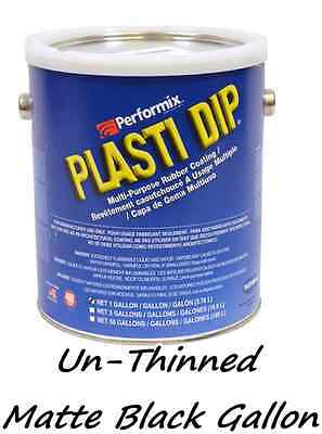 1 Gallon Matte Black Unthinned Performix Plasti Dip Concentrate Full Strength