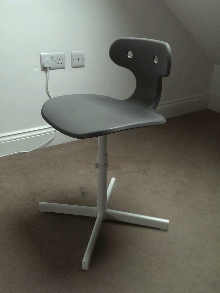 Free Ikea Molte Desk Chair Grey In Neasden London