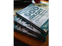 Selling three UKCAT question books