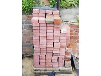 185 Red bricks for sale