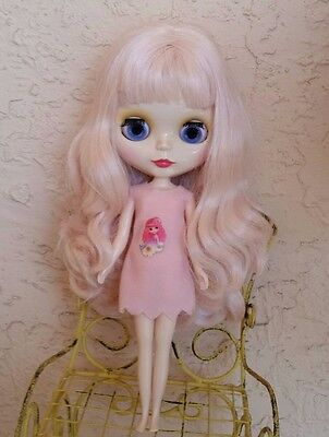 Factory Type Neo Blythe Doll Pale Pink Hair - FLAWED/AS IS