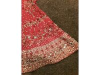 Red Bridal Lengha - Khushboo's by Chand