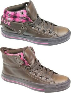 NEW-CONVERSE-ALL-STAR-122602-PADDED-COLLAR-CHOCOLATE-CA-LEATHER-SHOE-BOOTS