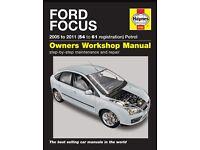 Ford focus car manual