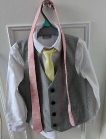 Next Boys formal suit 7 year old