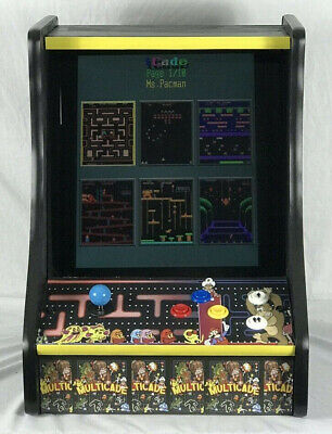 ARCADE CLASSIC NEW MS PACMAN,GALAGA, DONKEY KONG,NEW MULTICADE 60 GAMES TABLETOP