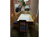 Dinning Table ,Coffee Table,Console Table & 6 Chairs