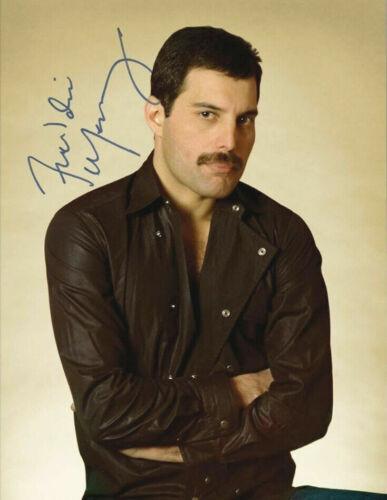 """Beautiful Freddie Mercury"" - Queen - Signed 8 x 10 Photo  Reprint  Very Nice!"