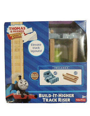 Thomas & Friends Wooden Railway Build It Higher Track Riser Fisher Price New