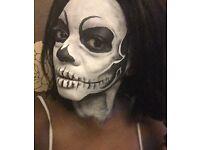 Face painter, face painting artist ,halloween face