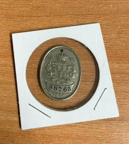 Philadelphia, Pa.  Vintage John Wanamaker Credit Charge Coin #88765 JW Monogram