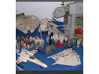 Starwars figures and toys also memorabilia wanted vintage to modern cash waiting