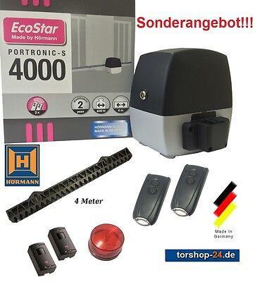 Hörmann EcoStar Portronic S4000 Schiebetorantrieb SK mit 600 N Hoftor 300 kg