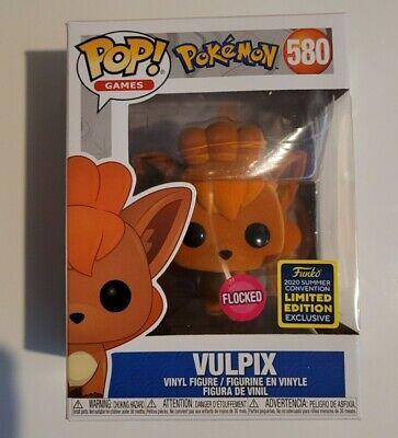Funko POP! Games Pokemon Vulpix #580 Flocked Exclusive