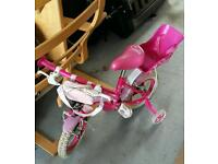 Pink first bike