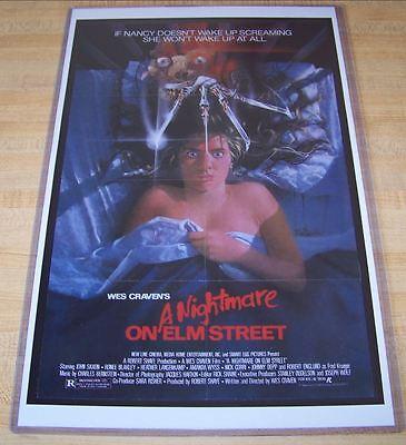 Nightmare on Elm Street Freddy Krueger 11X17 Original Movie Poster