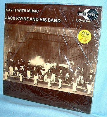 LP SAY IT WITH MUSIC Jack Payne and His Band UK import FACTORY SEALED!
