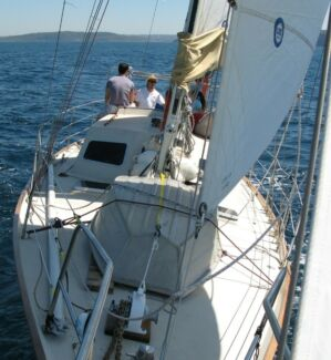 Swap Pilothouse 7 berth cruising yacht for Motorhome