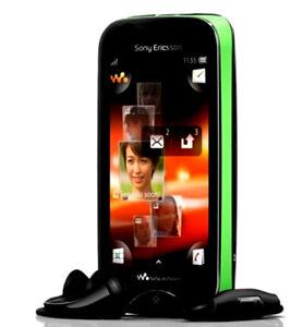 Sony Ericsson Mix Walkman WT13i - Green on Black Unlocked QUADBAND GSM CELLPHONE
