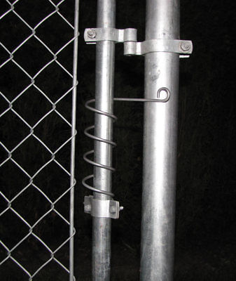 Chain Link Gate Spring Closer  Self Closing Adjustable Spring For Chainlink Gate