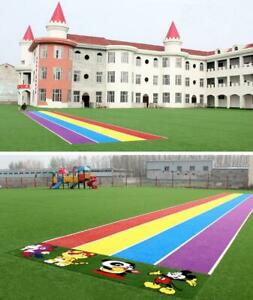 41*3.2ft (12.5m*1m) Artificial Plant Rainbow Runway Artificial Lawn 021323/ 021324/021325