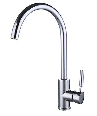 Chrome plated Gall Body Single-Handle Contemporary Kitchen Sink Faucet