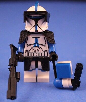 Trooper Denal 501st Clone Custom Troopers Lego Star Wars minifigures