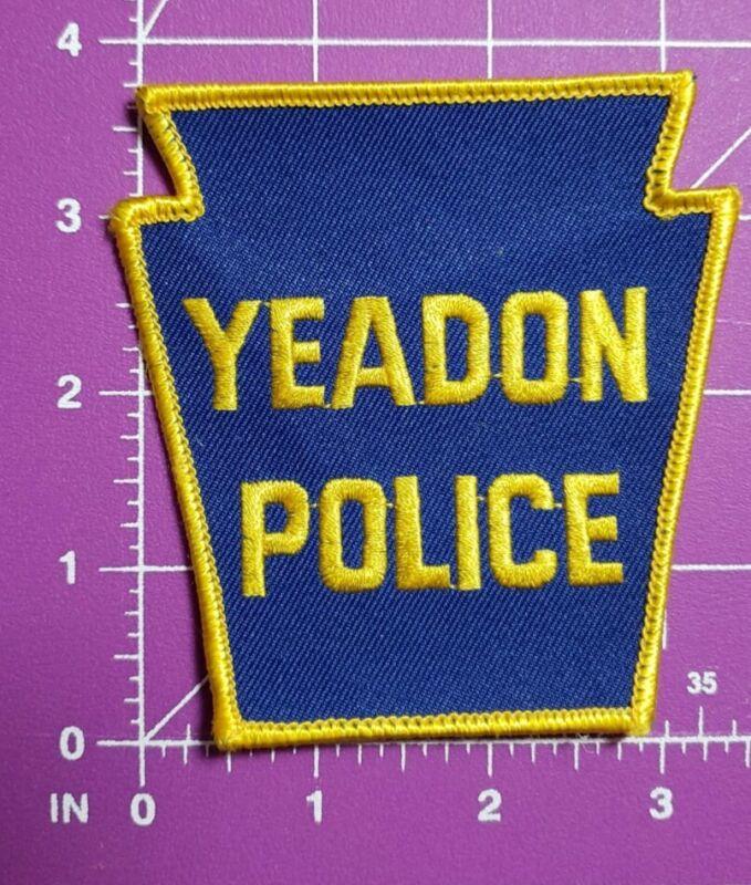 Yeadon Pennsylvania Vintage Police shoulder patch