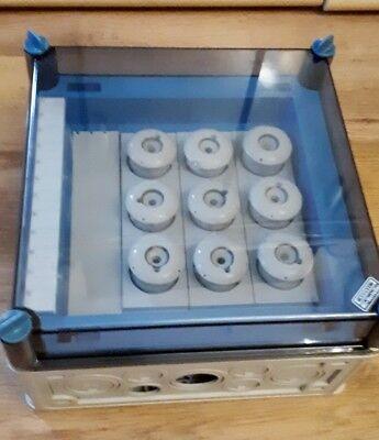 Hensel Sicherungskasten 3x3x63A