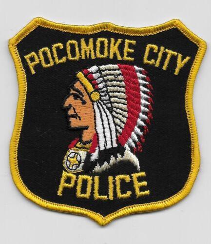 Vintage Indian Head Pocomoke City Police State Maryland MD