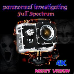 Ghost hunting Full Spectrum Night Vision Wifi 4K Video Camera action camera
