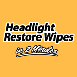Headlight Restore Wipes Australia