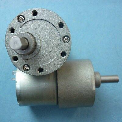 1pc Dc3v-24v 37gb528 37mm Metal Gear Box Reducer Motor Large Torque For Diy